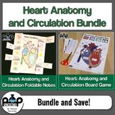Heart Anatomy and Circulation Bundle