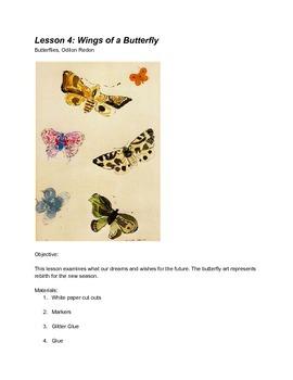 Heart Art Kidz Lesson 4: Wings of a Butterfly