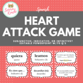 Heart Attack Game for Impersonal Expressions w/Subjunctive