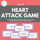 Heart Attack Game for Subjunctive vs. Indicative