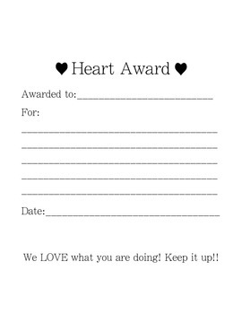 Heart Awards