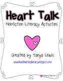 Heart Based Nonfiction Literacy Activities