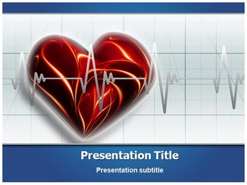 Heart Beat PPT Background