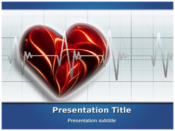 Heart Beat PPT Template