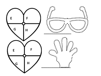 Heart Beginning Letter Sounds