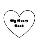 Heart Book for Valentine's Day Primary Grades