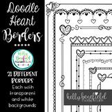 Valentine's Day Heart Borders 2
