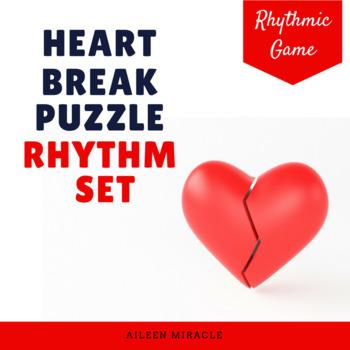 Heart Break Puzzle Rhythmic Set
