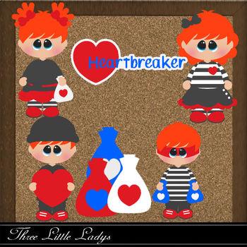 Heart Break - Red hair