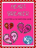 Heart Breaker Letter and CVC puzzles