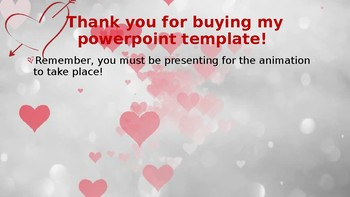 Heart Bubbles Powerpoint Template