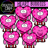 Heart Buddies: Valentine Clipart {Creative Clips Clipart}