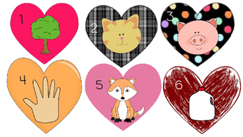 Heart CVC words: Practice writing and sounding out words!