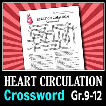 Heart Circulation - Crossword