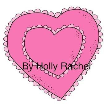 Lace Hearts Clip Art