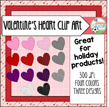 Clip Art: Valentine's Day Heart Collection