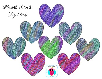 Heart Clip Art- Heartland