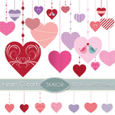 Heart Clipart Hanging Hearts Clip Art Scrapbooking Love Va