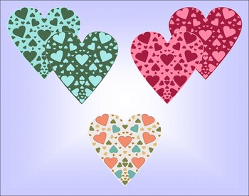 Heart Clipart  Heart of Hearts ~ Great for Valentine's Day