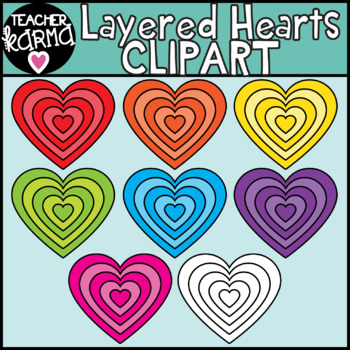 Heart Clipart for Valentine's Day