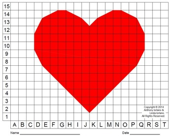 Heart (Color Grid), Valentine's Day