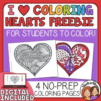 heart coloring pages for valentines day - Coloring The Pictures