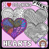Heart Coloring Pages for Valentine's Day!