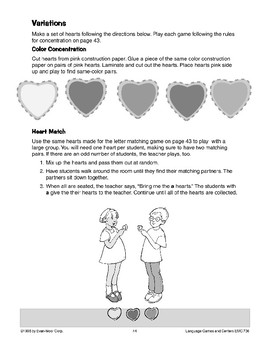 Heart Concentration (letter recognition/memory)