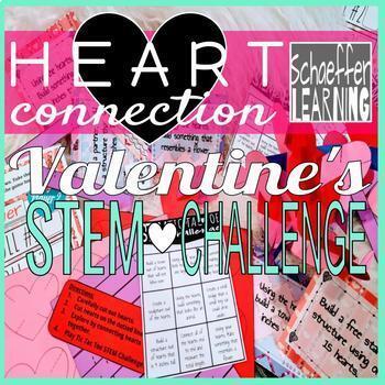 Heart Connection Valentine's STEM Challenge