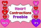 Heart Contractions Freebie