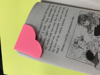 Heart Corner Bookmark PRINTABLE