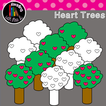 Heart Counting Trees Color AND b&w
