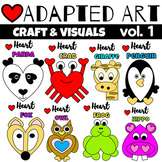 Animal Crafts {Adapted Art}