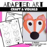 Animal Craft {Adapted Art Fox}
