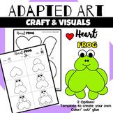 Animal Craft {Adapted Art Frog}
