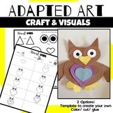 Animal Craft {Adapted Art Owl}