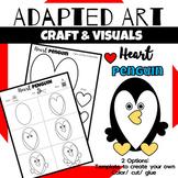 Animal Craft {Adapted Art Penguin}