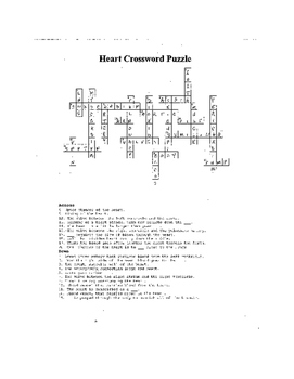 Heart Crossword Puzzle Review