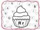 Heart Cupcake Letter Match