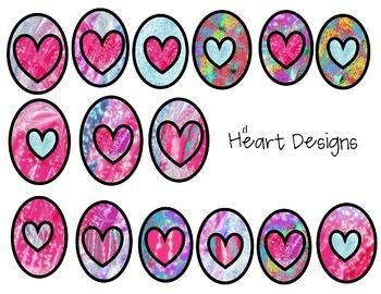 Heart Designs Clip Art