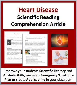 Heart Disease - A Science Reading Comprehension