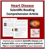 Heart Disease - Digital A Science Reading Comprehension