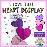Heart Display - I love that... / Valentine's Day Craft / S