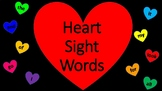 Heart Dolch Sight Words [Valentine's Day]