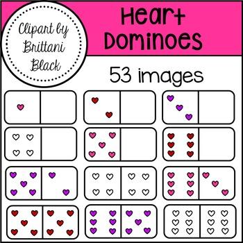 Heart Dominoes