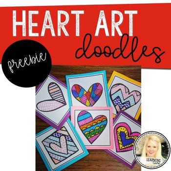 Heart Doodle Art