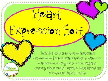 Heart Expression Sort: Multiplication