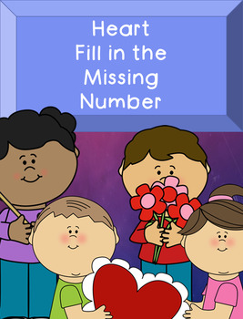 Heart Fill in the Missing Number