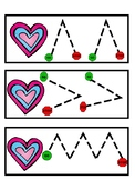 Heart Fine Motor Tracing Cards