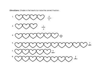 Heart Fraction Strips